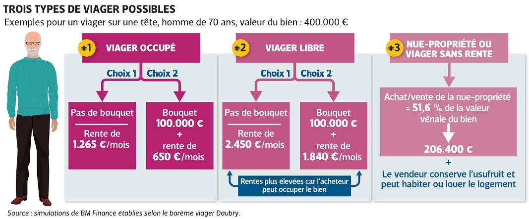 infographie achat en viager