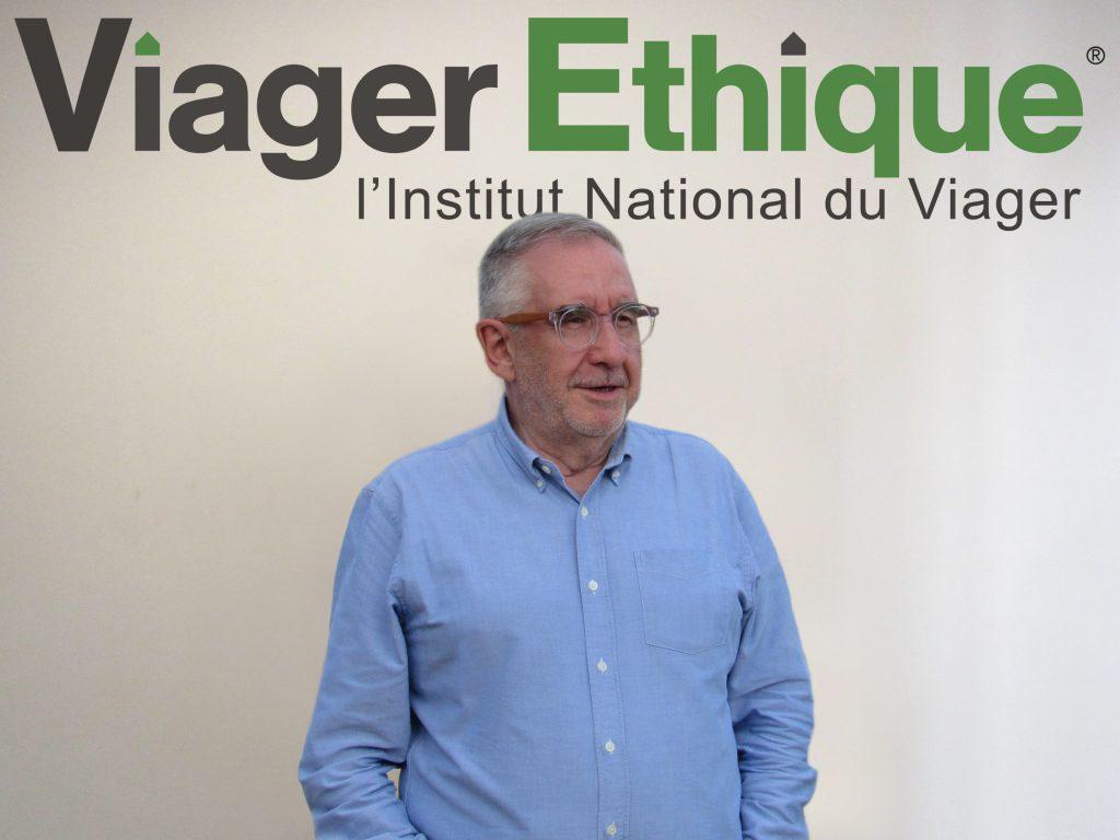 Dominique Charrier est un expert en viager depuis 1977.